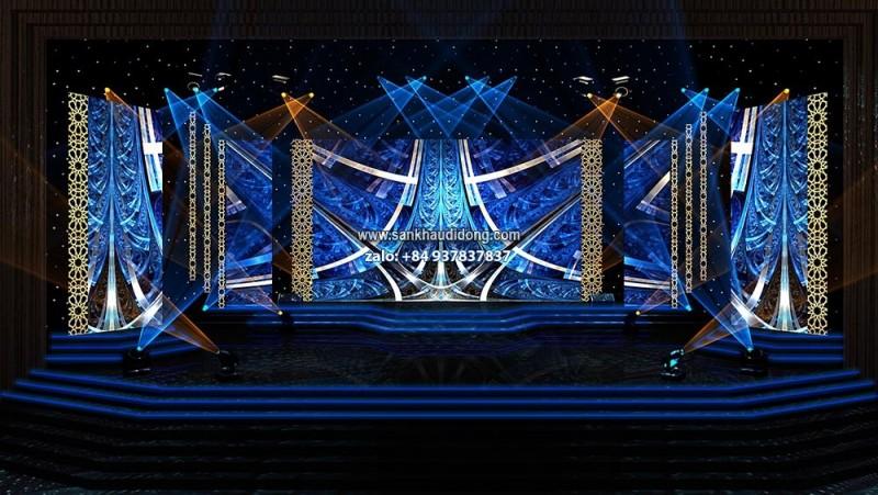 Cho thuê màn sao sân khấu, phông sao sân khấu