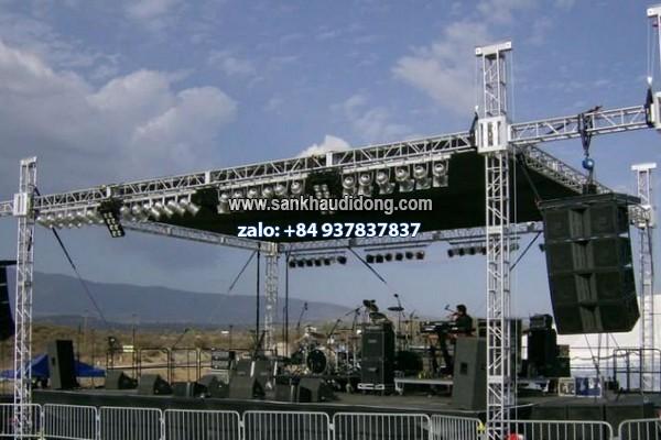 Sản xuất mái che sân khấu